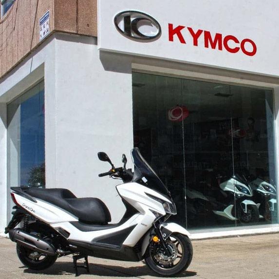 Concesionario oficial Kymco en Zaragoza