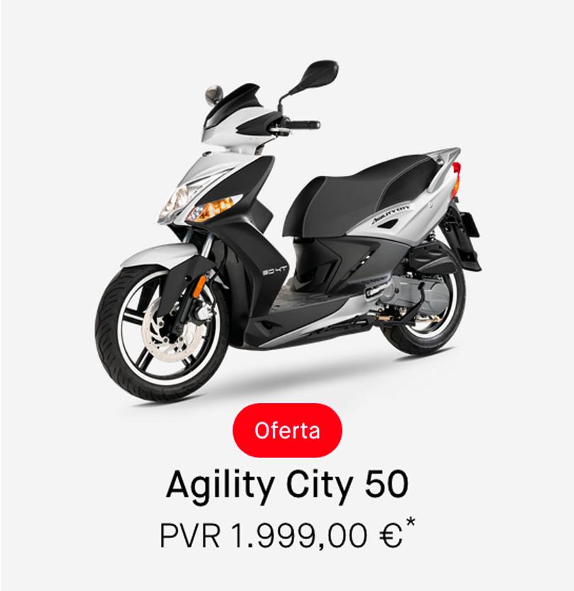 Descuento Kymco Agility 50cc