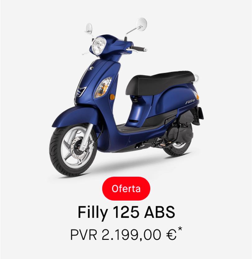 Descuento Kymco Filly 125cc