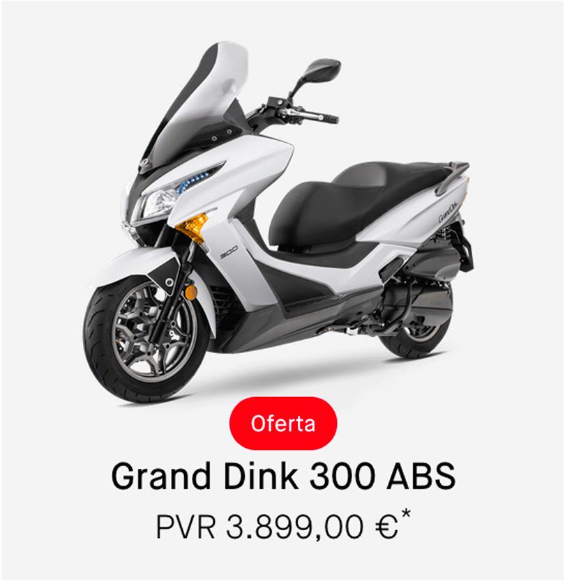 Descuento Kymco Grand Dink 300cc