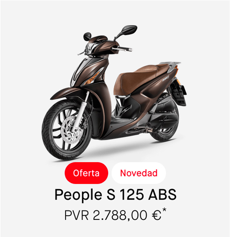Descuento Kymco People 125cc