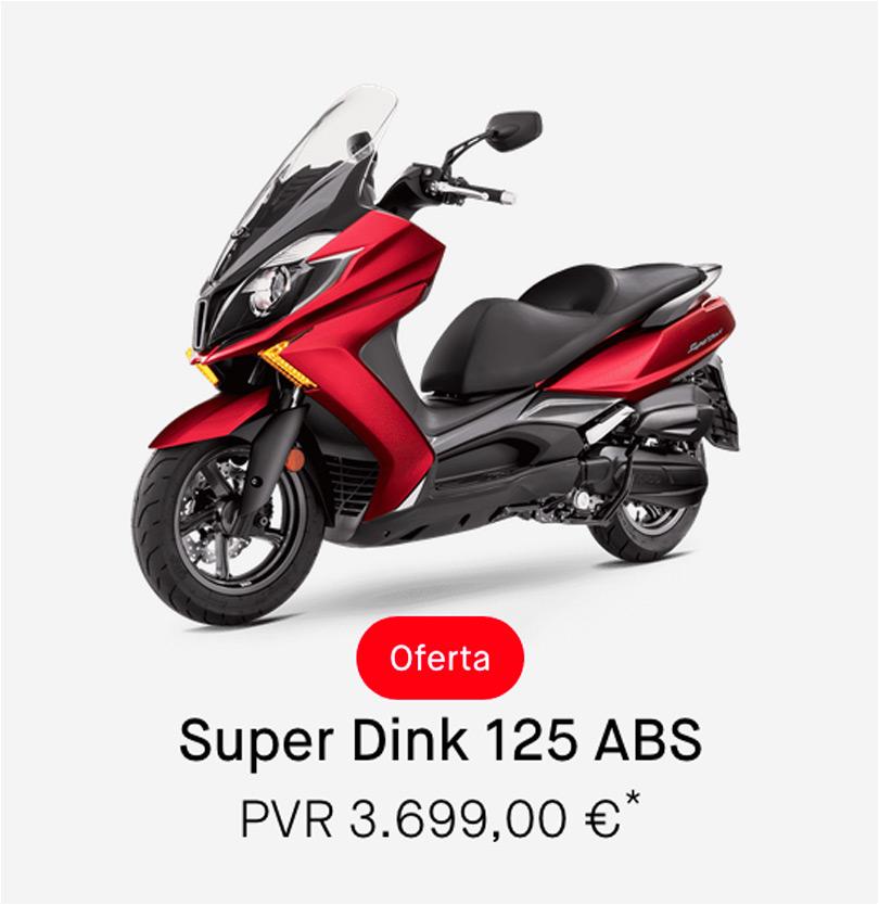 Descuento Kymco Super Dink 125cc