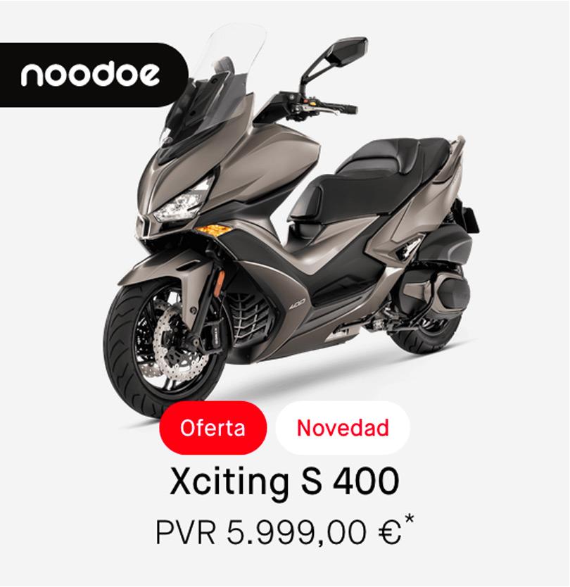 Descuentos Kymco Xciting 400cc