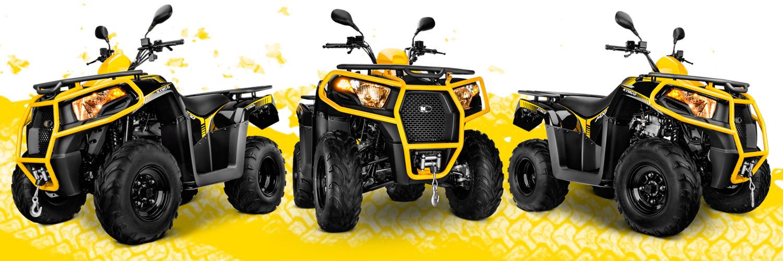 KYMCO MXU 300 - Quad - MOTOMUNDI - Zaragoza