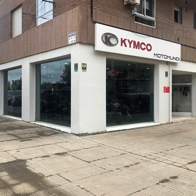 MOTOMUNDI - KYMCO - Zaragoza